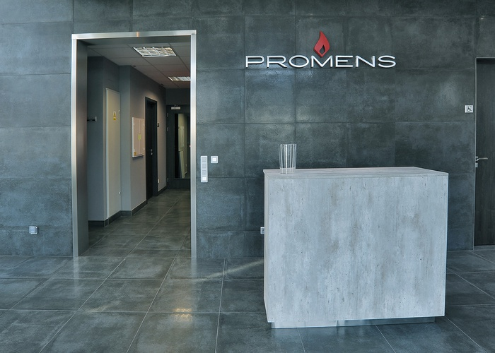 Restyling sede Promens